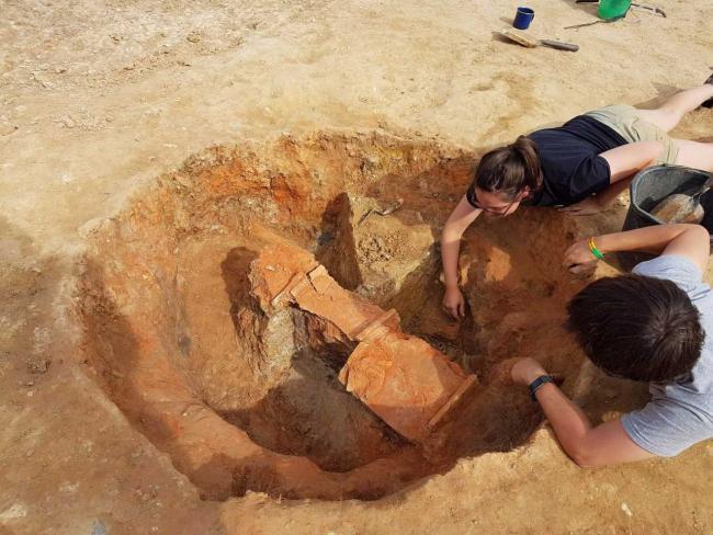 England Nero Tiles Discovered