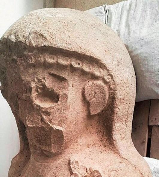 Iron Age Statue Turkey Unearthed
