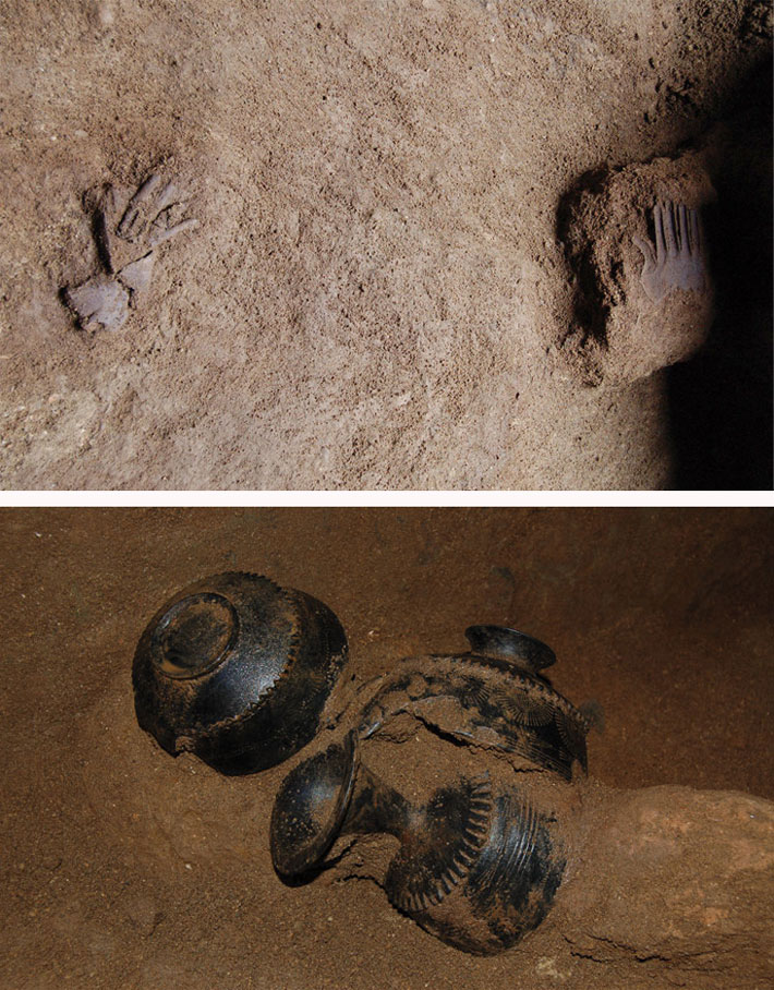 Silver-Hands-Etruscan-In-Situ