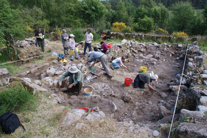 Bennachie-Mcdonald-House-Excavation