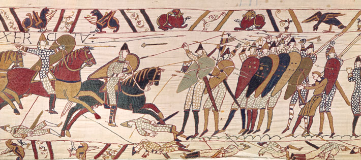 Horses Bayeux Tapestry