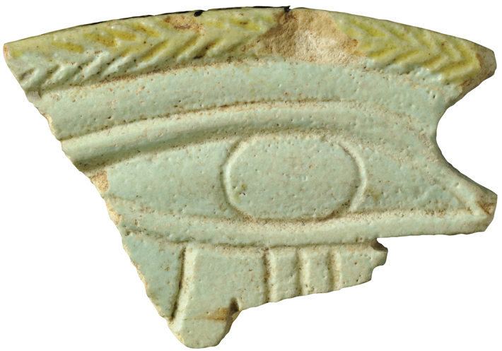 Jaffa Faience Horus Eye