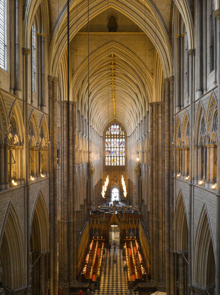 Westminster Abbey Triforium View