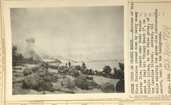 Peleliu WWII Orange Beach Invasion