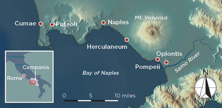Pompeii Intro Map