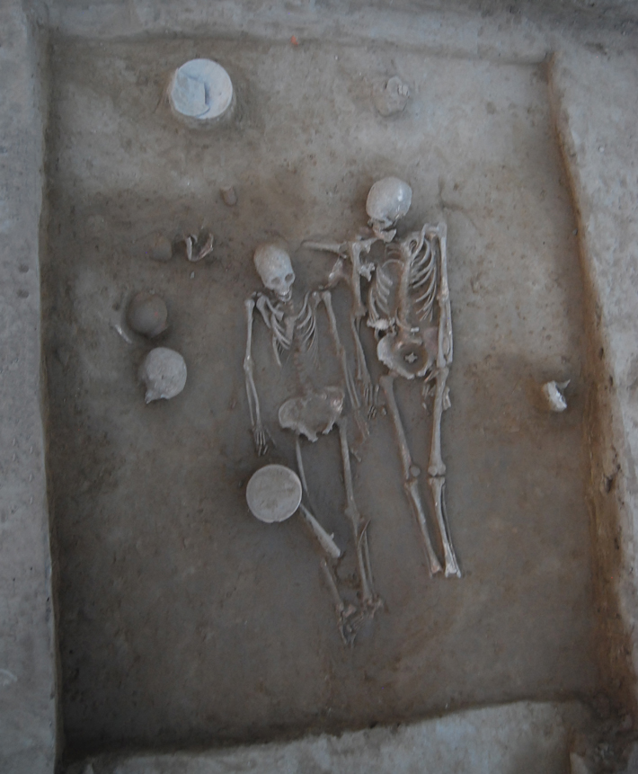 Trenches India Harappan Burial CROPPED