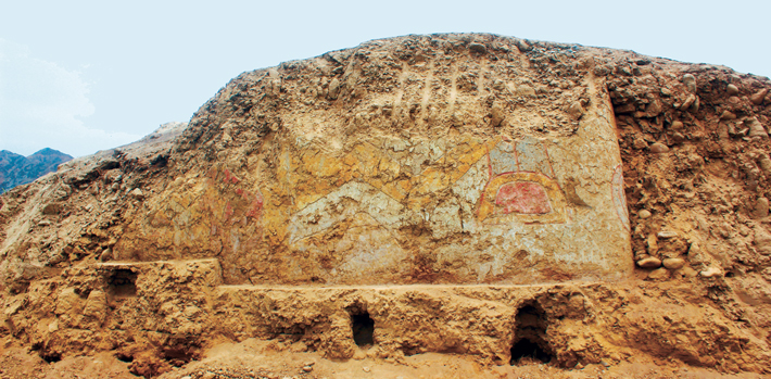 The Spider's on the Wall - Archaeology Magazine