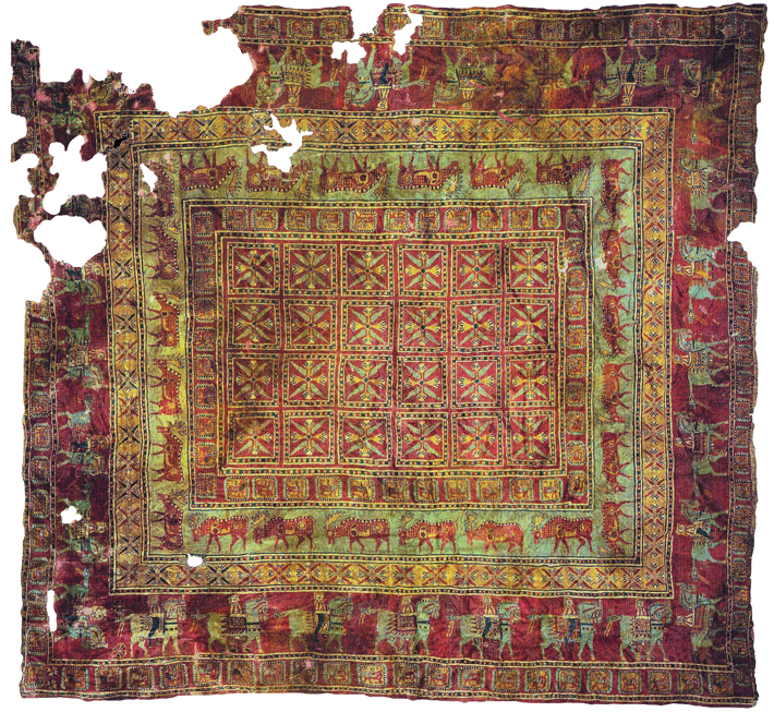 Red Carpet Treatment - Archaeology Magazine