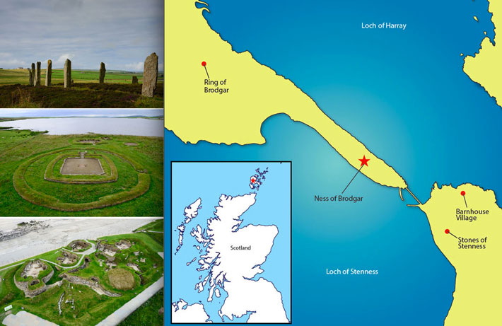 Neolithic-Orkney-Map-Sites