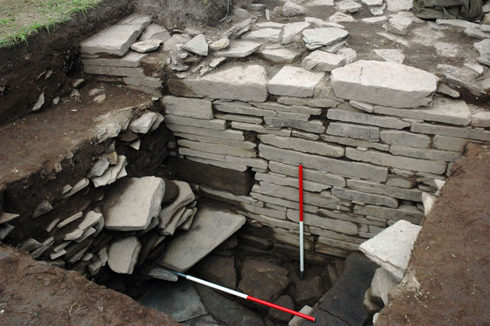 Neolithic-Orkney-Wall