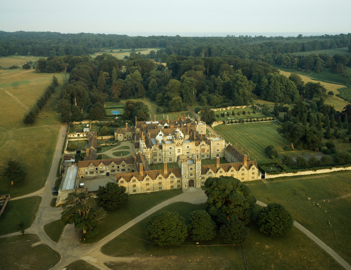 Knole House Aerial View
