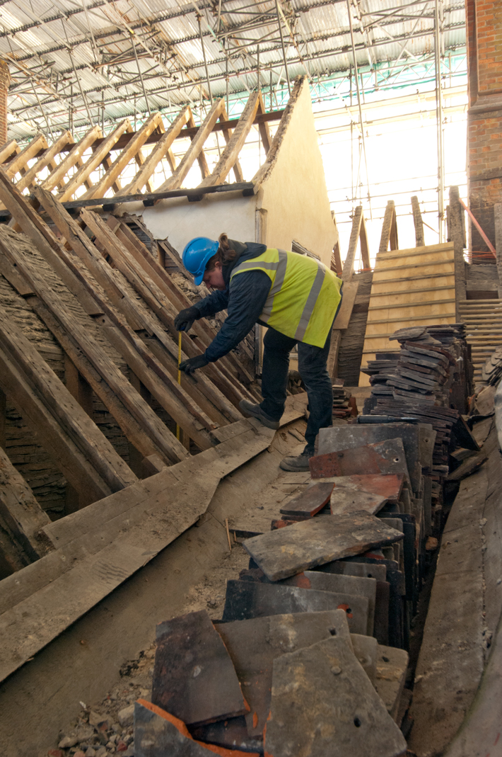 Knole House Roof Timbers