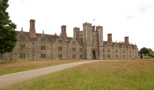 Today, most of Knole House is operated by the National Trust as a museum, though part is occupied by the family of Robert Sackville-West, 7th Baron Sackville. (Courtesy National Trust)