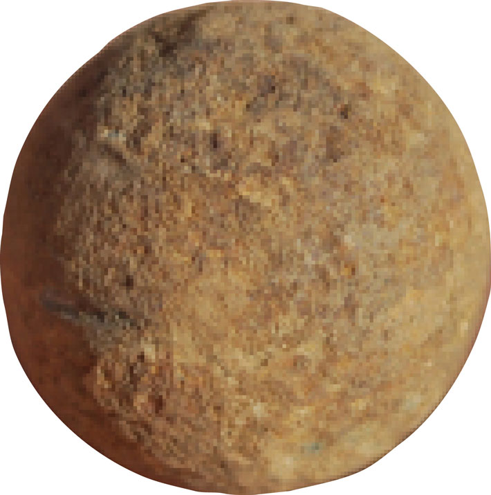 Trenches Massachusetts Musket Ball