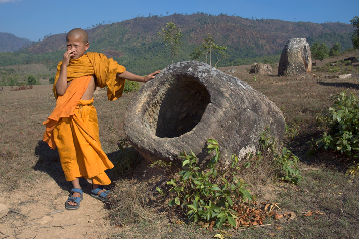 plain of jars archive monk