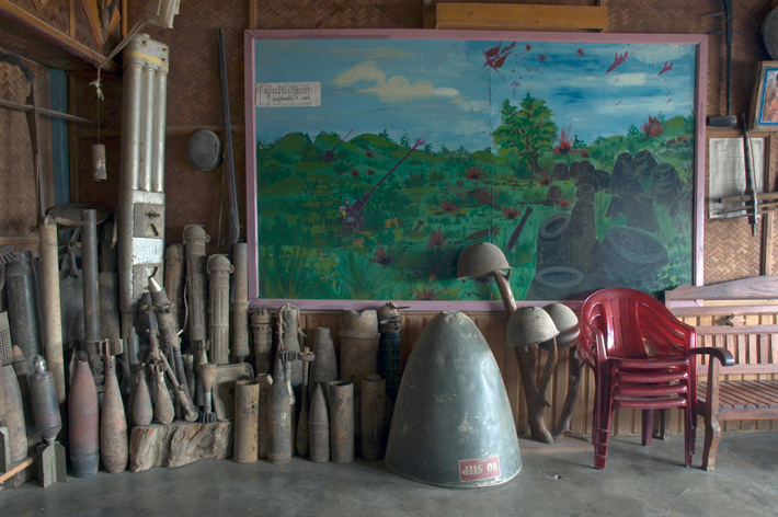 plain of jars archive mural