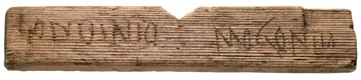 Top Ten London Roman Tablet