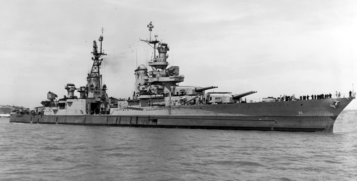 Top Ten USS Indianapolis Photo