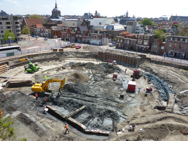 Leiden Sewers Excavation
