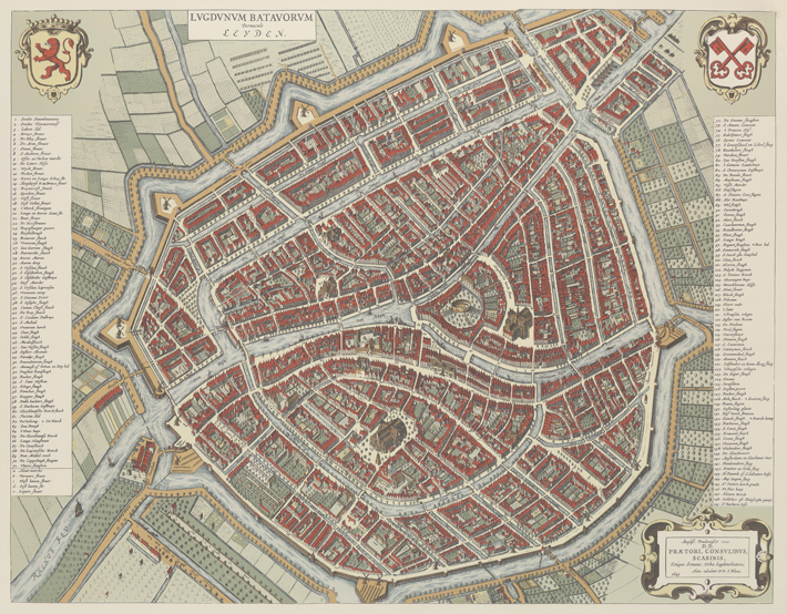 Leiden Sewers Map