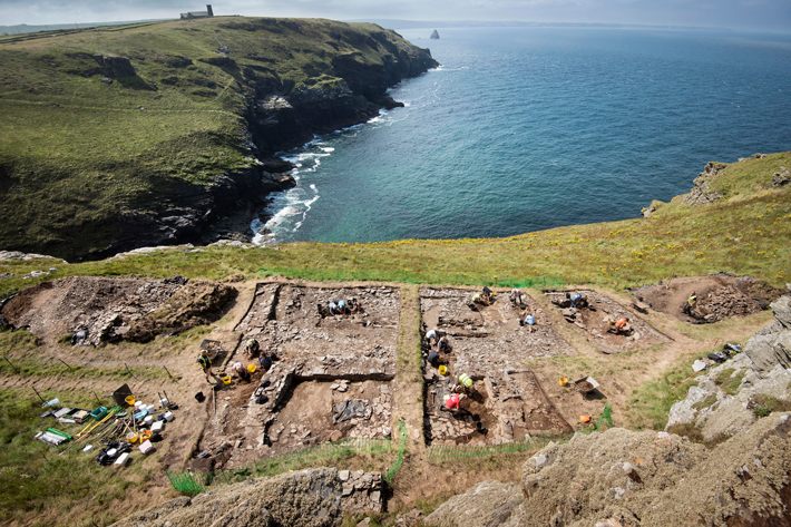 Tintagel King Arthur Excavations