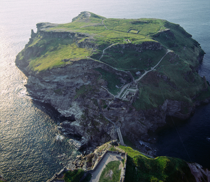 Tintagel King Arthur Headland Fortifications