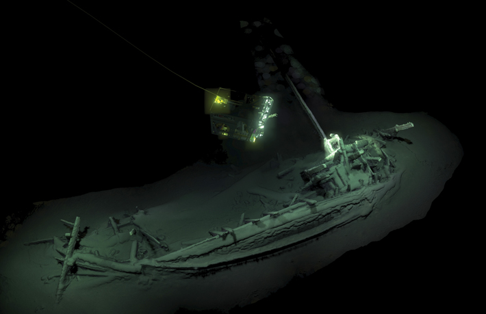 Top Ten Black Sea Classical Shipwreck
