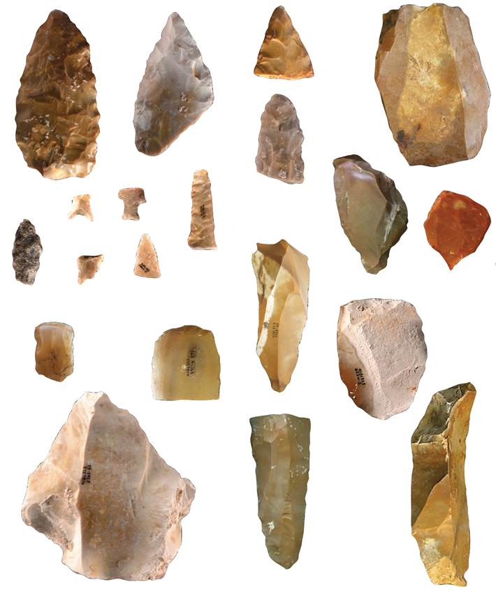 Top Ten Texas Gault Site Stone Tools