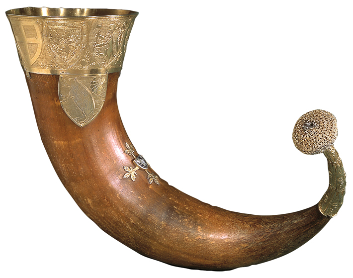 Trenches Medieval Drinking Horn
