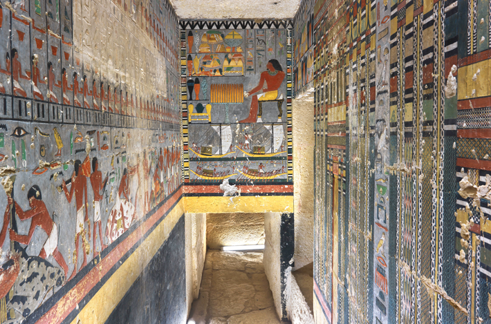 Top Ten Egypt Khuwy Tomb Paintings