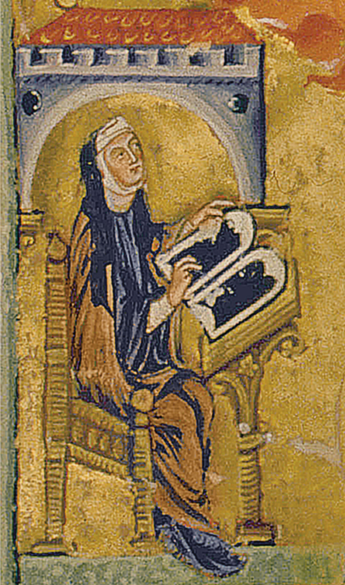 Medieval Female Scribe - Archaeology Magazine
