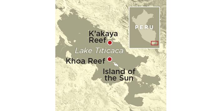 Eser Peru Haritası küçük