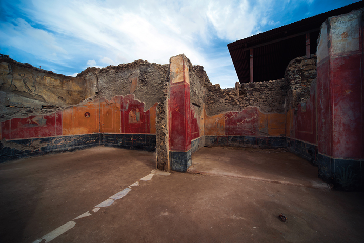 On Yıl İtalya Pompeii Regio V