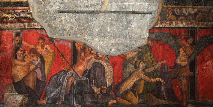 Pompeii Villa Mysteries Dionysus