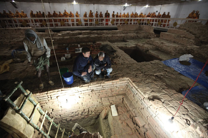 Nepal Early Buddhist Site Excavation