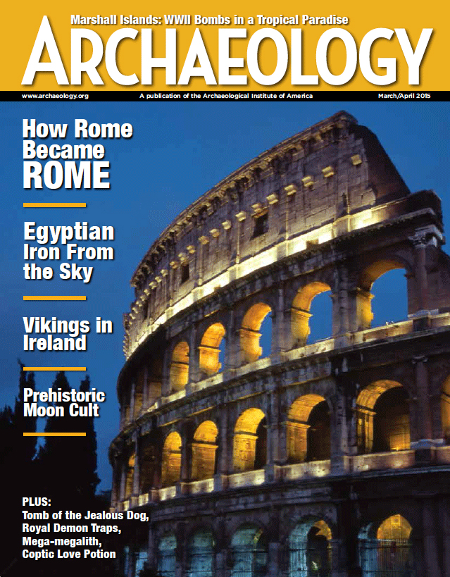 Current Issue Archaeology Magazine