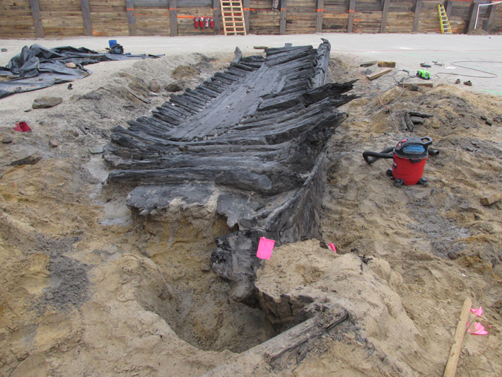 Trenches Virginia Ship Timbers