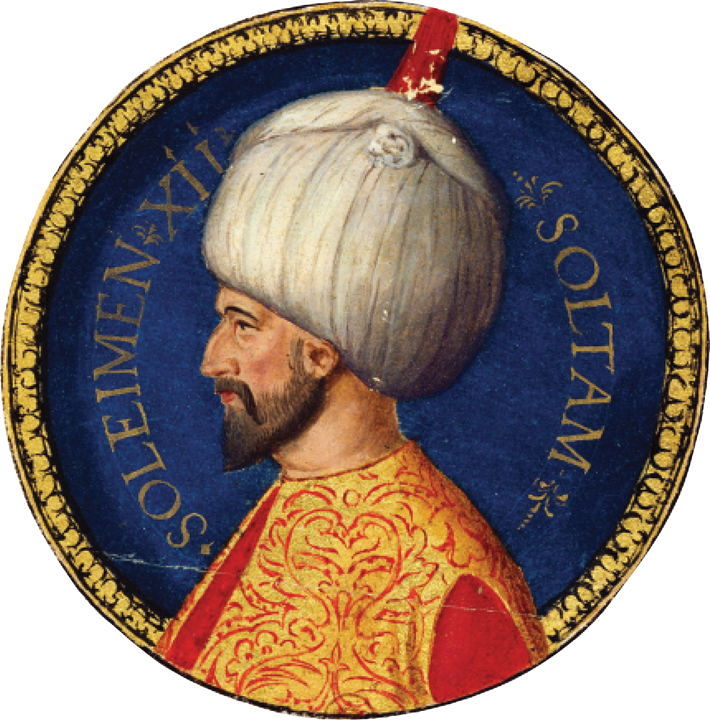 Hungary Suleiman Magnificent Portrait