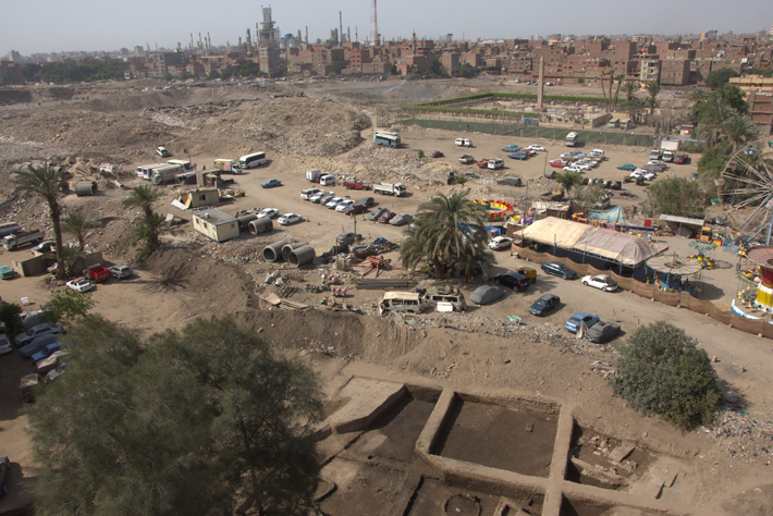 Heliopolis Egypt Surroundings Aerial