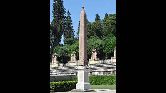 Boboli Obelisk, Florence: Like several other obelisks,              this one was moved to Rome to decorate the Temple of Isis,              an Egyptian goddess adopted into the Roman pantheon. It was              taken to Florence by the Medici family in 1790, and now              stands behind the Pitti Palace museum. (imageBROKER/Alamy              Stock Photo)