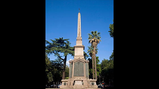 Dogali Obelisk, Rome: Another of Ramesses II's              obelisks, originally set up in a minor temple in the              precinct of Ra, this monument was moved to Rome in antiquity              and later reused as part of a memorial to Italian soldiers              killed in the 1887 invasion of Ethiopia. It is now outside              Rome's main train station. (G M Thomas/Alamy Stock Photo)