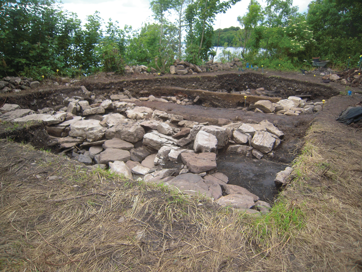 Ireland High Medieval Building Foundations
