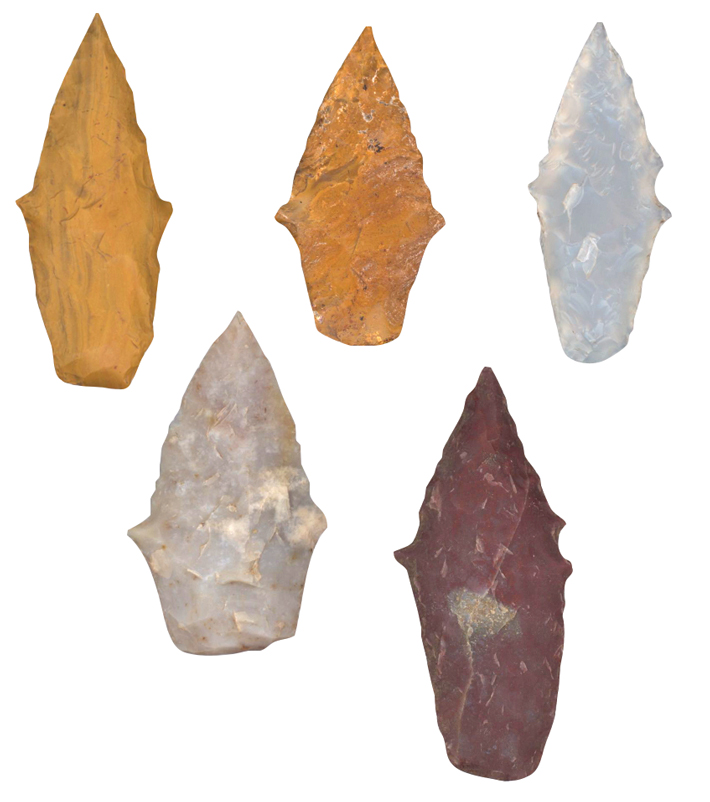 MA21 Digs Peru Projectile Points