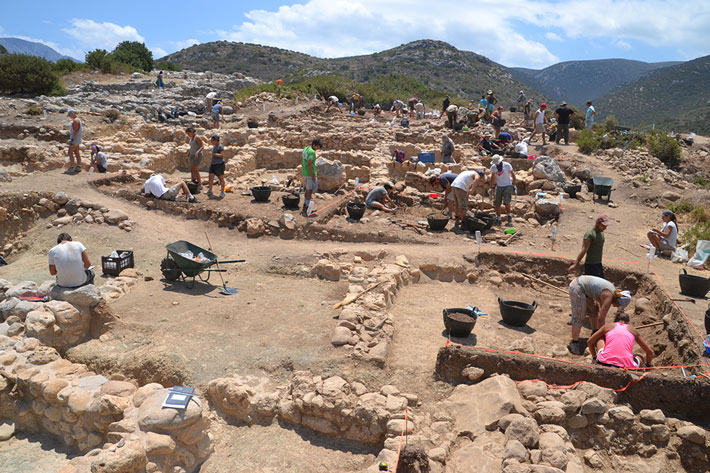 Minoans Crete Gournia Excavation