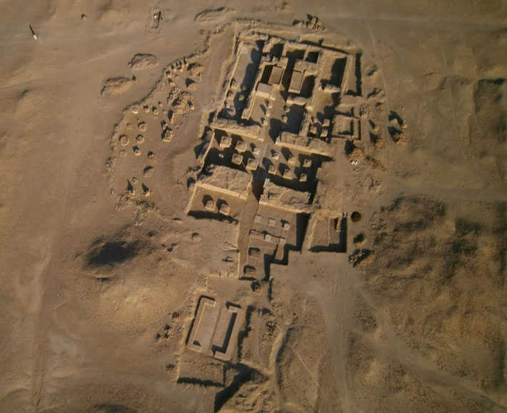 Nubia Cult of Amun Aerial