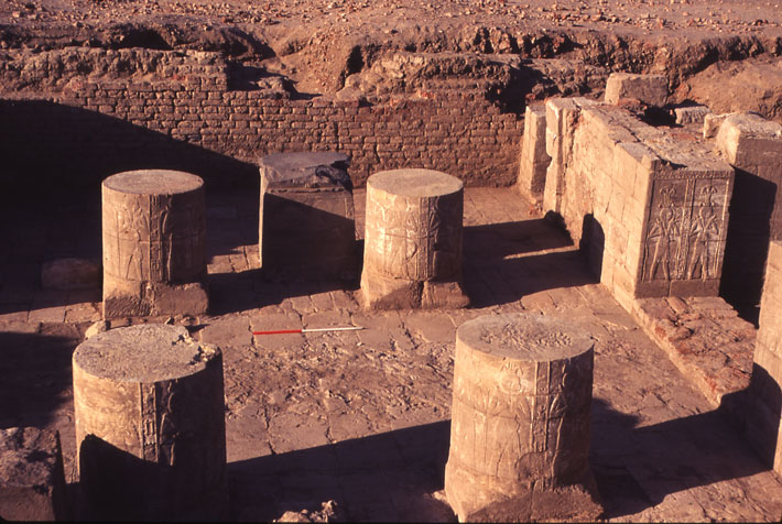 Nubia Cult of Amun Columns