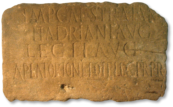 Hadrians Wall Inscription