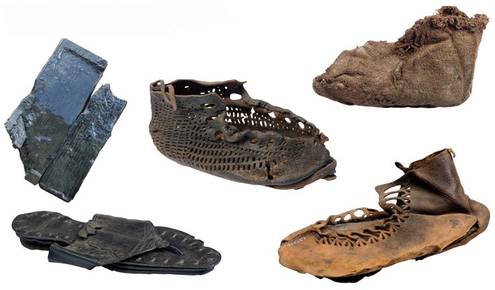 Hadrians Wall Tablets Shoes no writing