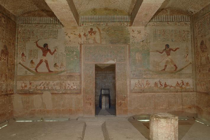 Beni Hassan Khnumhotep II Tomb Painting
