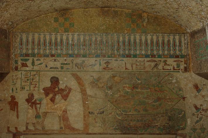 Beni Hassan Khnumhotep II Waterfowl